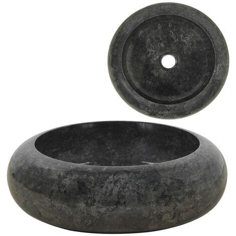 Lavabo 40x12 cm marmol negro