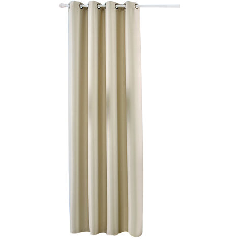 A cortinas de aislamiento termico, beige, Panel 1, 39X98Po