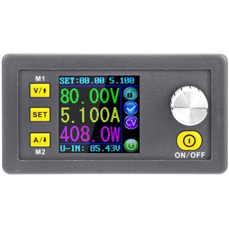 RD LCD DPS8005-USB digital programable Voltaje constante actual Step-down version Comunicacion modulo de alimentacion del amperimetro del voltimetro Buck convertidor DC 0-80.00V 0-5.100A USB, Gris, USB Version Comunicacion