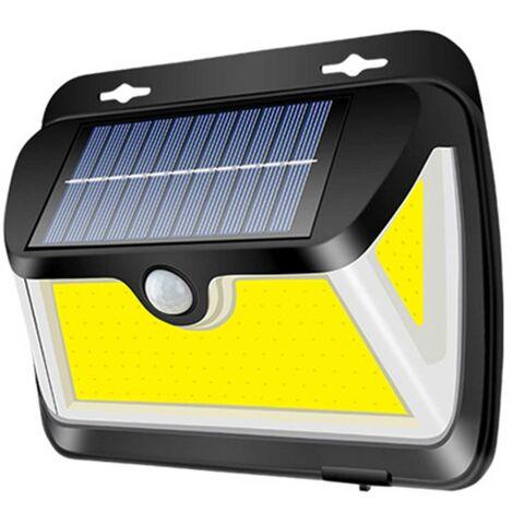 Lampara de pared de induccion duradera Humano Solar Rango 3 Luminoso superficies 20©O iluminacion impermeable IP65 163 COB