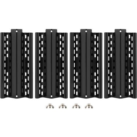 4pcs universal Llama Tamer reemplazo parrilla ajustable Heat Shield piezas de chapa