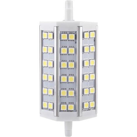 R7S 7W 36 LEDs SMD 5050 bulbo ahorro de energia lampara de luz 118mm blanco 100-240V Reemplazar Proyector halogeno, blanco
