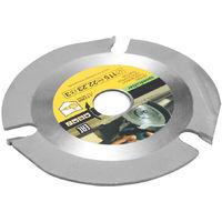 Sierra circular, disco de sierra de amoladora, 115 mm, 3 dientes