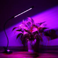 Lampara de crecimiento de planta LED con cabezal unico temporizado
