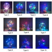 RGB LED bombilla de la lampara, E27 Bombillas LED decorativo, para el hogar