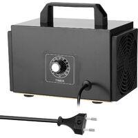 El ozono purificador portatil de filtro de la maquina Generador de aire con pulsador temporizado Ozonizador Ozonizador para el hogar del coche de formaldehido, 28 g / h