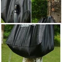 Bano portatil de ducha al aire libre solar Bolsa Bolsa Ducha Ducha acampar bolsa de agua 40L Calefaccion camping Bolsa de ducha