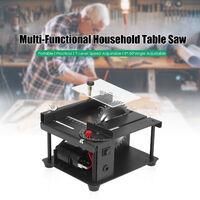 Multi-funcional Sierra de mesa Mini mesa de sierra cortadora electrica de la maquina de corte con hoja de sierra, 35MM Ajuste del angulo de corte de profundidad, 2 #