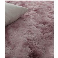 Tie-dye arte de la alfombra suave estupendo piso dormitorio de la estera del color del gradiente de gran tamano mullida manta de area de la sala de estar alfombra del pasillo Mat, 1,0m x 1,6m