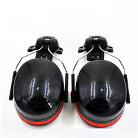 Casco Duro oreja de montaje Manguitos Cap Monte orejeras de proteccion orejeras de reduccion de ruido con cancelacion de ruido Casco acoplable orejeras del oido defensores anti-ruido protectores auditivos