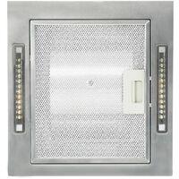 Campana extractora de techo pantalla sensor tactil 756 m3/h LED