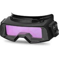 Oscurecimiento automatico de soldadura Anteojos para la herramienta de utilidad multifuncion TIG MIG MMA profesional de soldadura vidrios de los anteojos