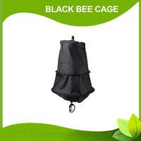 Negro Bee Swarm Jaula Trampa Swarming Catcher herramienta portatil apicultor abeja salvaje de apicultor fuentes herramienta Colmena