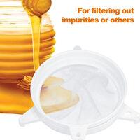 Doble malla del tamiz Miel Miel Extractor doble filtro Tamiz para apicultor de cocina y otros filtracion utilizando