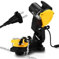 Herramienta de pulido electrica Amoladora de motosierra Amoladora de cadenas de motosierra electrica Herramientas de pulido de utilidad