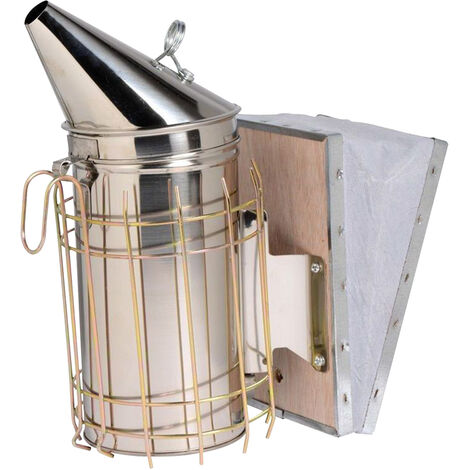 Strumenti di apicoltura-spruzzatore di fumo in acciaio inossidabile BS-001EM