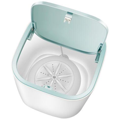 Mini Barrel Lavatrice Rondella intimi calze turbina automatico personale rondella rotazione rondella conveniente a ultrasuoni, bianco