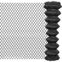 dimensioni maglia: ca rotolo di 10 m Xclou Rete per recinzione plastificata a maglia esagonale con rivestimento in plastica per piante e animali 25 x 0,9 x 500 mm