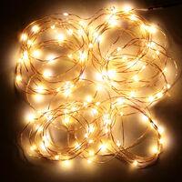 DC4.5V 0.3W 3 metri 30 LED Fata rame della luce della stringa a pile caldo Operated flessibile bianca Bendable Twistable portatile per la casa del partito della decorazione di DIY Festival Ristorante Bar Pub Club