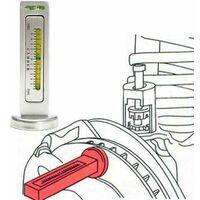 livello magnetico allineamento ruote calibro, aiuti