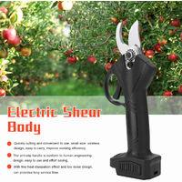 Potatore litio ricaricabile frutta giardinaggio giardino strumenti forbici rami wireless portavano potatura, blu