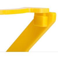Porta secchiello in plastica giallo EX-021 per miele