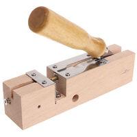 Punch Stopper Dispositivo di perforazione per trapano a foratura con telaio in legno per perforatore a nido d'ape