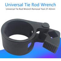 Chiave per tirante interno per camion per auto universale 27-42mm Strumento per la rimozione di riparazioni Estremita del tirante, nera