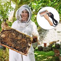 Strumento elettrico per estrattore di miele Strumenti per apicoltura per esportazione Utensili per api Raschietto per coltello elettrico per tagliare la milza Tagliare il miele