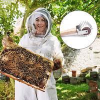 Rullo in acciaio inossidabile Strumento per l'estrazione del miele Tipo di apicoltura Raccoglitore di propoli Strumento per l'estrazione del miele Accessori per l'apicoltura