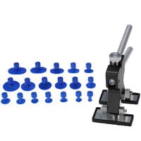 Car Body Paintless Dent Lifter Repairing Tool Puller with 18pcs Glue Tabs Hail Removal Tool,modello:3