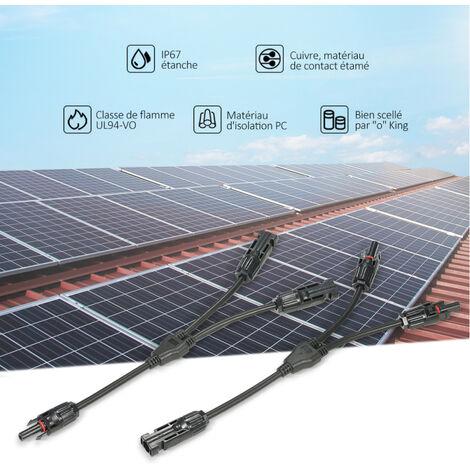 T-Branch Verbinder Solarpanel Stecker Stecker /& Buchse Ersatz Nützlich