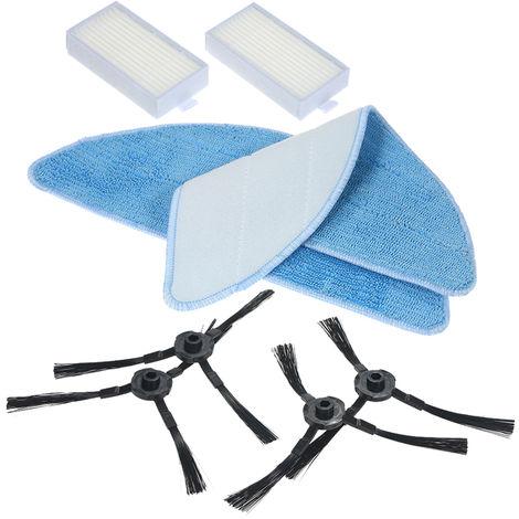 Packung Von 8 Ersatz Zubehor Kit Schrubber + Seitenbursten + Hepa Filter Fur Ilife V5S V3S V3 V5 Pro Roboterstaubsauger
