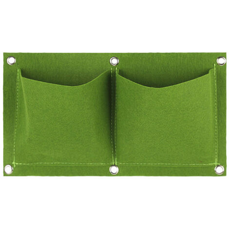 Zuchttasche fur Gartenpflanzen, grun, 2 Taschen