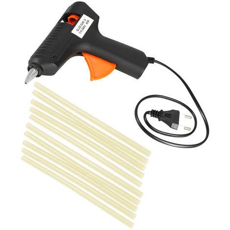 Black dent repair glue gun + 10 glue sticks