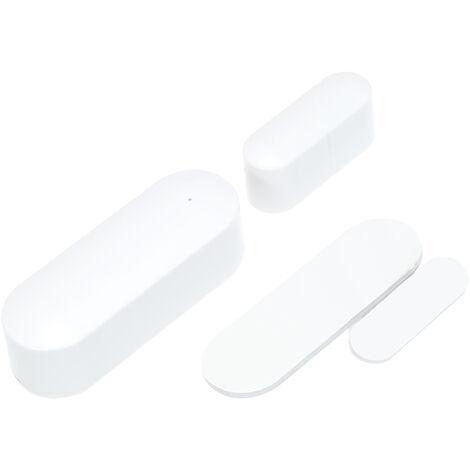 Wireless Door Window Sensor For Home Security Alarm White