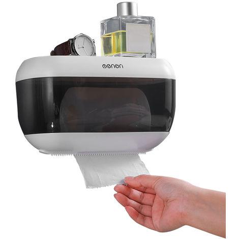 Hand towel dispenser wall-mounted Paper Towel Holder Grey