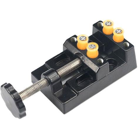 Universal Mini Clamp Table Vice Black