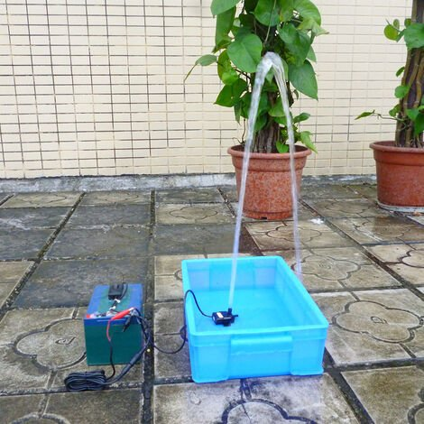 DC12V 9W - Micro Brushless Water Oil Pump Fountain Pump
