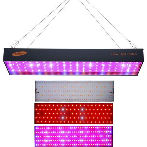 1000W LED Grow Light LED Panel Grow Light for Hydroponic Greenhouse Indoor Plant Flower Vegetative Growth