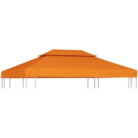 Gazebo Cover Canopy Replacement 310 g / m2 Terracotta 3 x 4 m