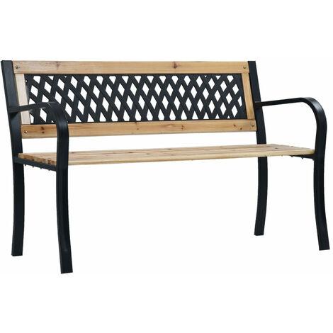 Garden Bench 120 cm Wood