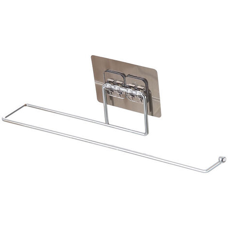 Towel Bar Power Towel Holder Bath Towel Clothes Hanger Nail-free Wall Mount Towel Rack Holder
