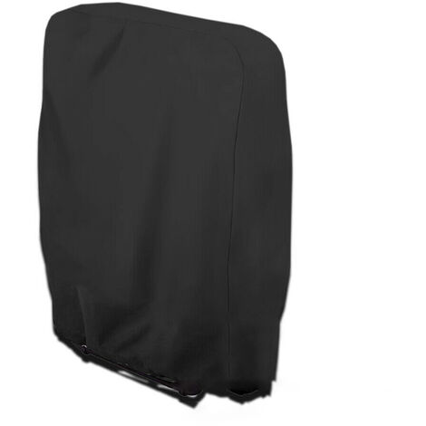 Lightweight Outdoor Camping Folding Reclining Chair Cover Waterproof Oxford-Cloth Folding Chairs Cover 110*71*34cm,Black
