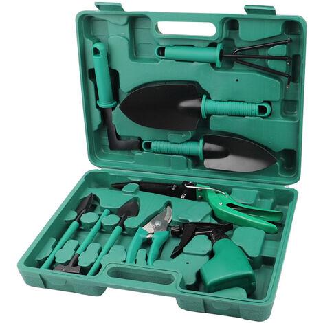 10-piece multifunctional gardening tool set, landscaping planting set