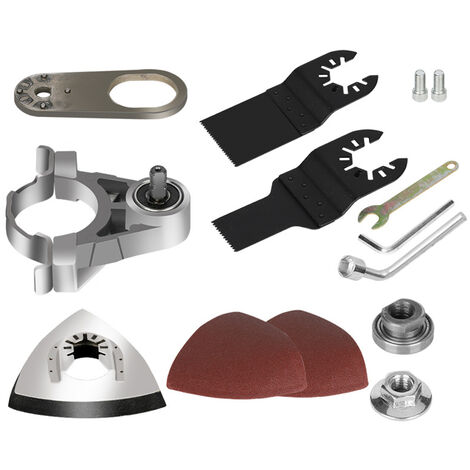 Angle Grinder Refit To Polishing Cutting Tool Accessories Set Wood Cutting Polishing Open Hole Metal Rust Removal Shovel Nails Wall Grinding Utility Modification Tool Set Multipurpose Household Woodworking Modification Tool Set for 100 Type Angle Grinder,