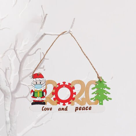 Christmas Tree Decoration Survived Family Christmas Hanging Ornament Home Decor,model: Elderly style