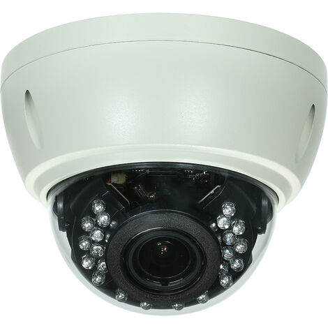 5MP ( 4MP / 1080P / 1440P / 1520P ) Camera HD Dome POE IP Camera Explosion-proof 2.8-12mm 4X Optical Manual Zoom Internal Focusing Lens H.265/H.264 Optional 1/2.7