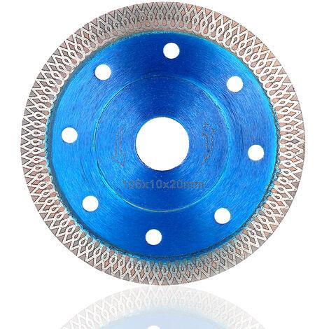 105mm 4-Inch Diamond Corrugated Saw Blade 20mm Bore Diameter Grinding Wheel Grinding Disc for Cutting Grinding Polishing of Concrete Granite Masonry Stone Ceramics Terrazzo Marble Blue,model:Blue