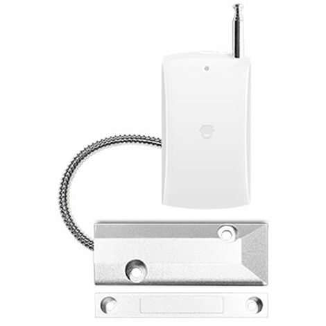 Chuango Wireless 315MHz Roller Shutter Door Magnetic Contact Sensor Switch Door Window Open Detector For Home Burglar Alarm System,model:White